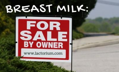 breast milk for sale