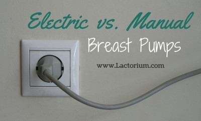 electric and manual breast pumps